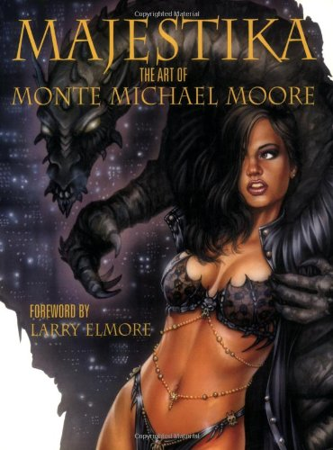 9781843403241: Majestika: The Art of Monte Moore