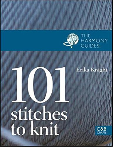 9781843404804: 101 Stitches to Knit (The Harmony Guides)