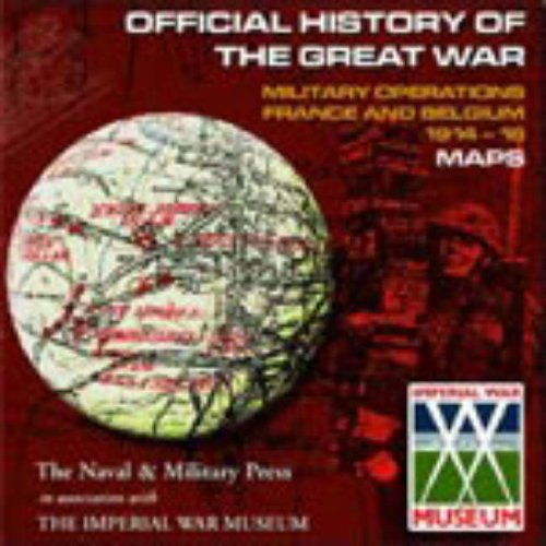 9781843420088: Military Operations France and Belgium: 1914-1918 Maps on CD Rom (Military CD Rom)