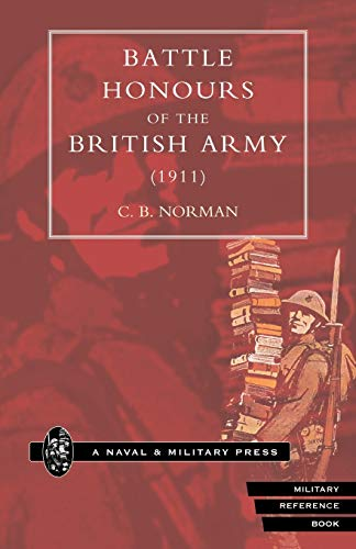 9781843422594: Battle Honours Of The British Army (1911): Battle Honours Of The British Army (1911)