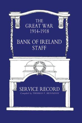 9781843425205: Great War 1914-1918 Bank of Ireland Staff Service Record