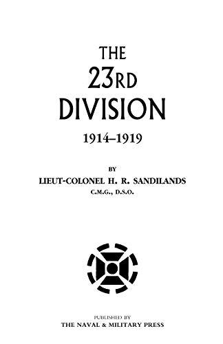 9781843426042: Twenty-Third Division 1914-1919