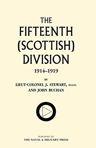 9781843426394: FIFTEENTH (SCOTTISH) DIVISION 1914-1919