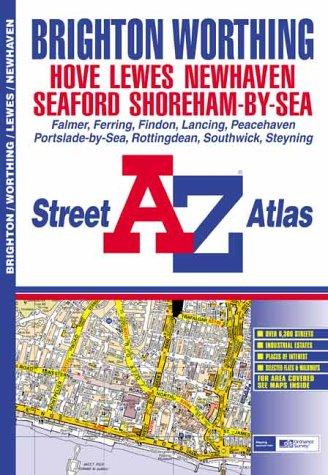 9781843480143: A-Z Brighton and Worthing Street Atlas