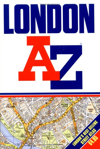 London A-Z (Non-Series Guidebooks): Geographers' A-Z Map