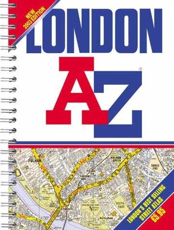 9781843480211: A-Z London Street Atlas (Street Maps & Atlases)
