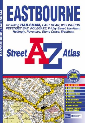 A-Z Eastbourne Street Atlas (Street Maps & Atlases) (1843480344) by Geographers' A-Z Map Company