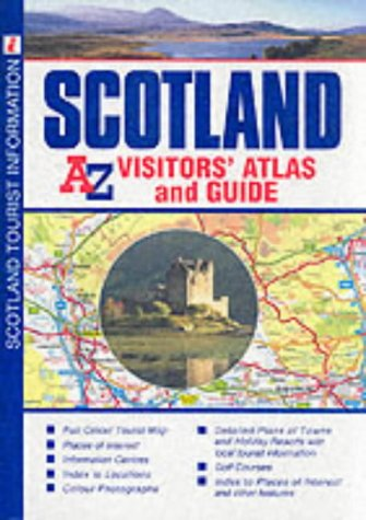 A-Z Scotland Visitors' Atlas and Guide: Geographers' A-Z Map