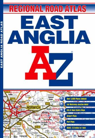 East Anglia Regional Road Atlas (1843481200) by Geographers' A-Z Map Company