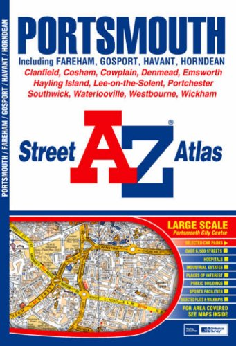 A-Z Portsmouth Street Atlas (Street Maps and