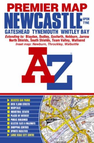 9781843482017: Newcastle Premier Street Map