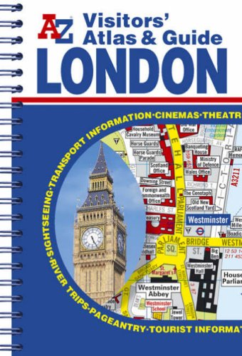 9781843482055: A-Z Visitors' London Atlas and Guide (Street Maps & Atlases)