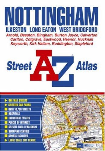 Nottingham, Ilkeston, Long Eaton, West Bridgford, Street: Geographers A-Z Map