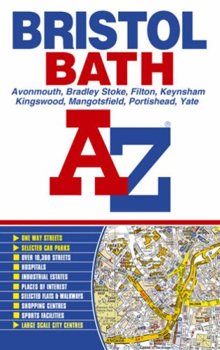 Bristol and Bath A-Z (Street Atlas): Geographers A-Z Map