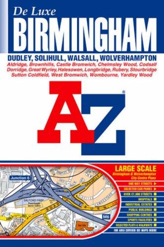 9781843482543: Birmingham De Luxe Street Atlas