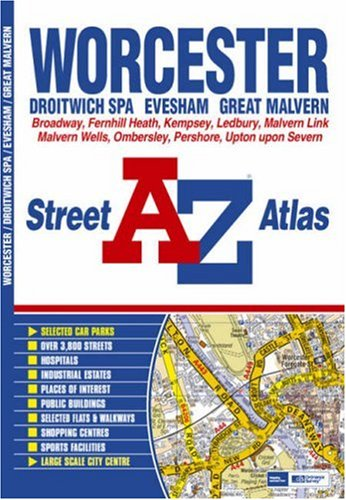 Worcester Street Atlas: Geographers A-Z Map