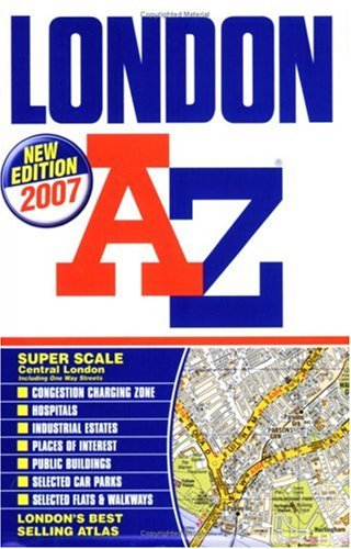 London A-z: Geographer's A-z Map