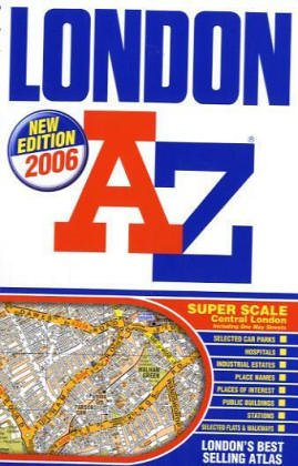 9781843483298: London Street Atlas 2006