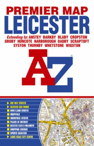 Premier Map Of Leicester Premier Maps Fold Out Map - Fold out map of the us