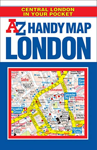 9781843484738: Handy Map of Central London A-Z (Street Maps & Atlases)