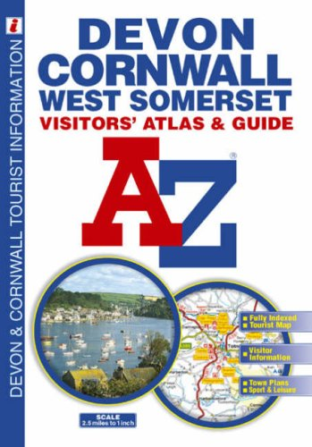Devon, Cornwall and West Somerset Visitors' Atlas: Geographers' A-Z Map Co Ltd