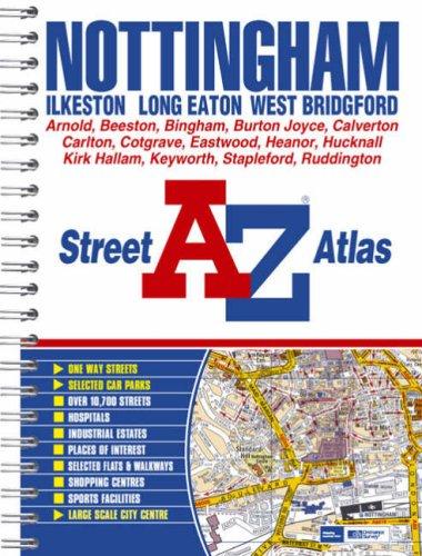 9781843485070: Nottingham Street Atlas (spiral)