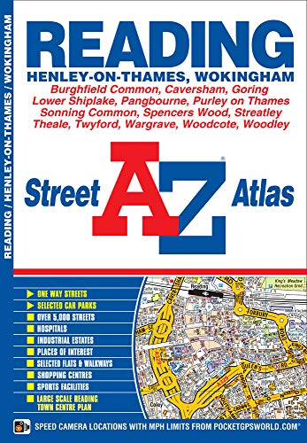Reading Street Atlas: Geographers A-Z Map