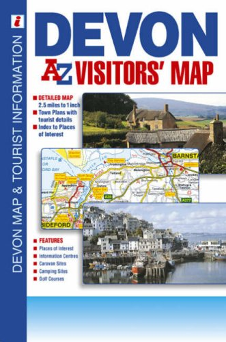 9781843485339: Devon Visitors Map