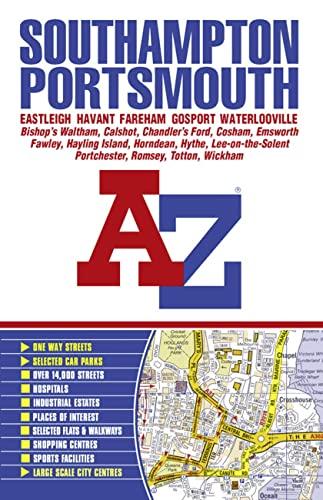 Southampton and Portsmouth Street Atlas: Geographers' A-Z Map Company