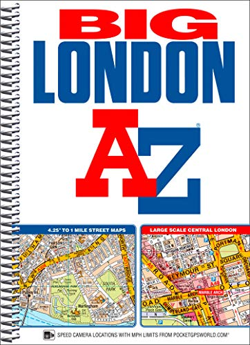 Big London Street Atlas (London Street Atlases): Geographers' A-Z Map Company