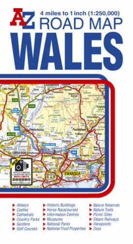 Wales Road Map AZ: Geographers' a-Z Map