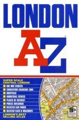 9781843486022: London Street Atlas (paperback) (A-Z Street Atlas)