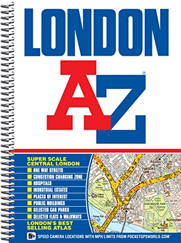 9781843486039: London Street Atlas (A-Z Street Atlas)