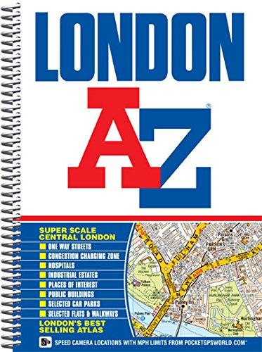9781843486039: London Street Atlas (spiral) (A-Z Street Atlas)