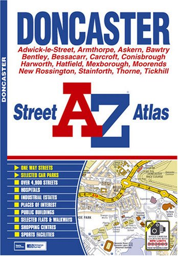 9781843486077: Doncaster Street Atlas (A-Z Street Atlas) - AbeBooks ...