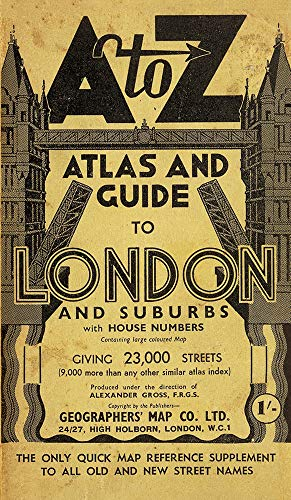9781843486398: London Street Atlas - Historical Edition (A-Z Street Maps & Atlases)