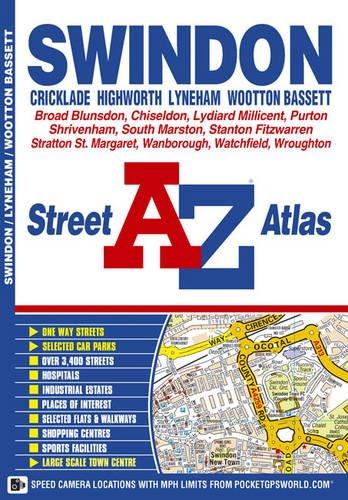 9781843486404: Swindon Street Atlas (A-Z Street Maps & Atlases)
