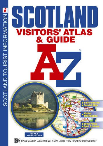 9781843486497: Scotland Visitors' Atlas a Guide (A-Z Premier Street Atlas) (A-Z Street Atlas)