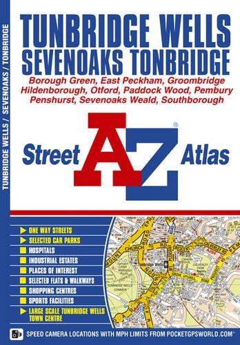9781843486527: Tunbridge Wells Street Atlas (A-Z Street Atlas S.)