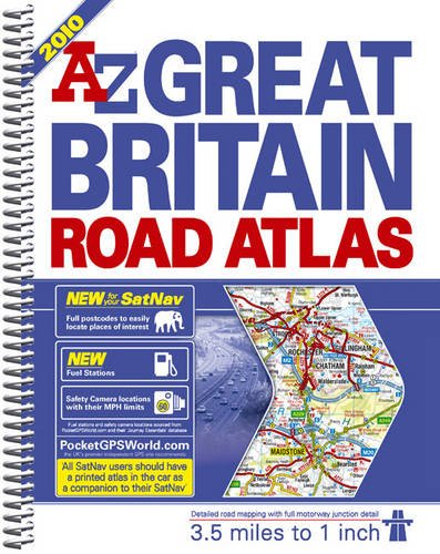 A-Z Great Britain Road Atlas: 3.5 Miles: Geographers' A-Z Map
