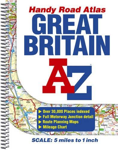 A-Z Great Britain Handy Road Atlas: 4.9: Geographers' A-Z Map