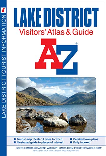 9781843487043: Lake District Visitors' Atlas