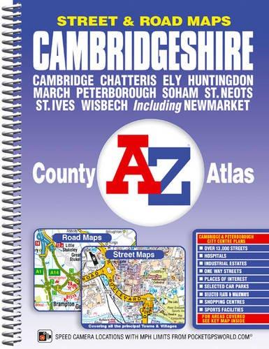 Cambridgeshire County Atlas (A-Z County Atlas): Geographers' A-Z Map Company