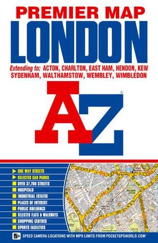 London Premier Map: Geographers A-Z Map
