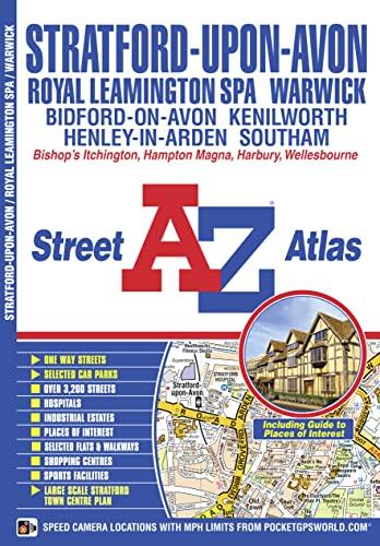 Stratford-upon-Avon and Warwick Street Atlas (A-Z Street: Geographers A-Z Map