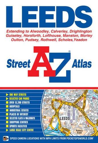 9781843487500: Leeds Street Atlas (A-Z Street Atlas)