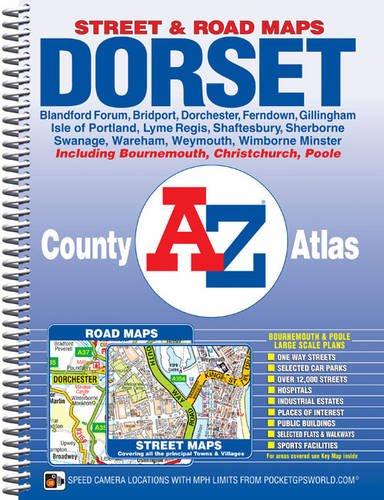 Dorset County Atlas (A-Z County Atlas): Geographers A-Z Map Company