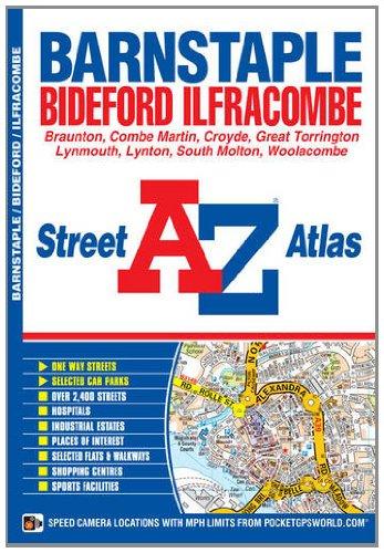 Barnstaple Street Atlas (A-Z Street Atlas) (1843487780) by Geographers' A-Z Map Company