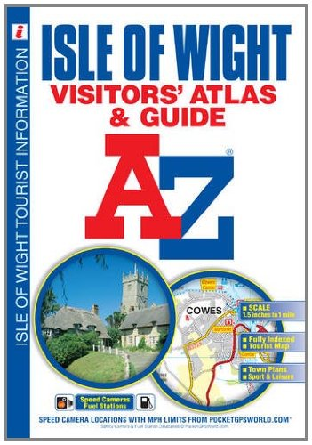 9781843487852: Isle of Wight Visitors Atlas & Guide