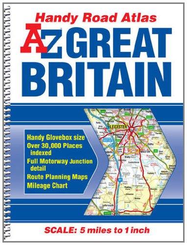 Great Britain Handy Road Atlas 2012 (A-Z: Geographers' A-Z Map